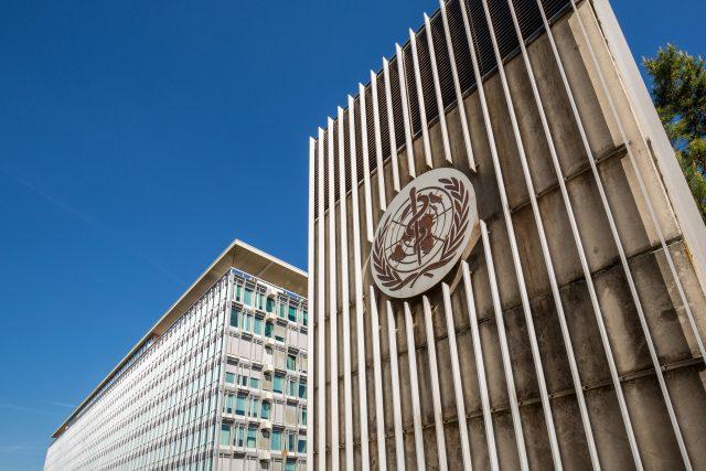 Sídlo Světové zdravotnické organizace v Ženevě.