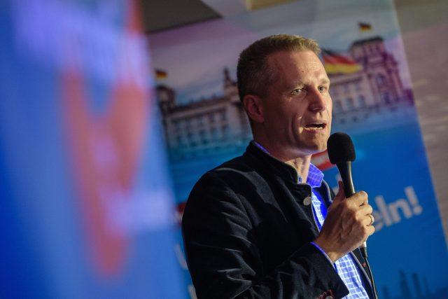 Německý poslanec českého původu Petr Bystroň protiimigrační Alternativy pro Německo (AfD)