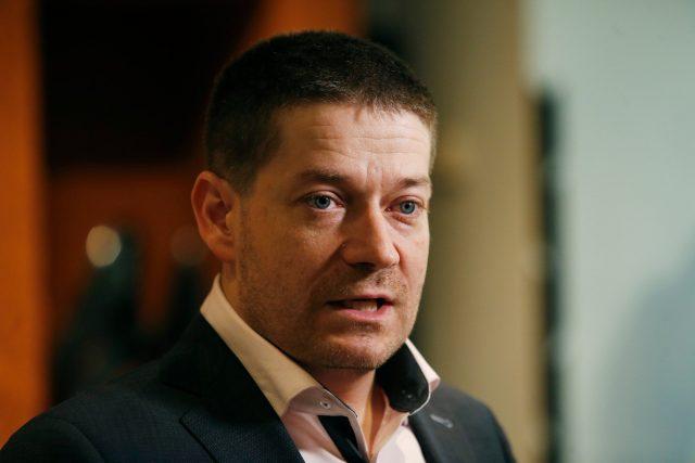 Poslanec Patrik Nacher za ANO