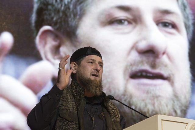 Čečenský prezident Ramzan Kadyrov.