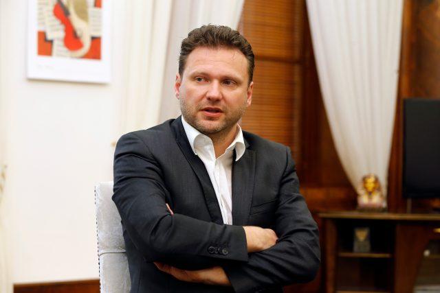 Předseda Poslanecké sněmovny Radek Vondráček z ANO