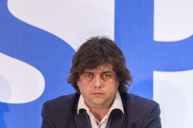 Poslanec Miloslav Rozner (SPD)