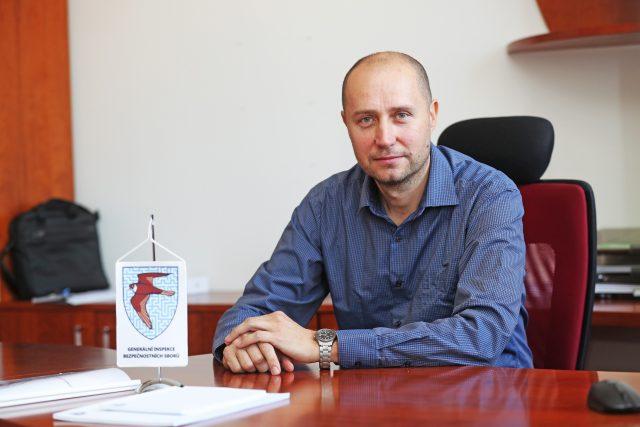Nový ředitel Generální inspekce bezpečnostních sborů Radim Dragoun