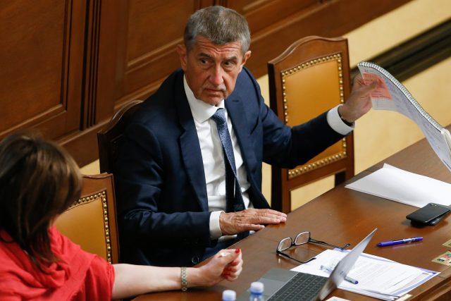 Premiér Andrej Babiš (ANO) podporuje tzv. klouzavý mandát