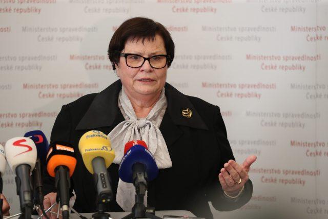 Ministryně spravedlnosti Marie Benešová (za ANO)