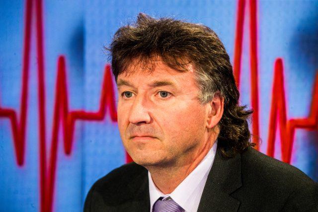 Předseda České lékařské komory Milan Kubek
