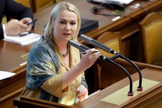 Poslankyně ODS a předsedkyně výboru pro obranu Jana Černochová
