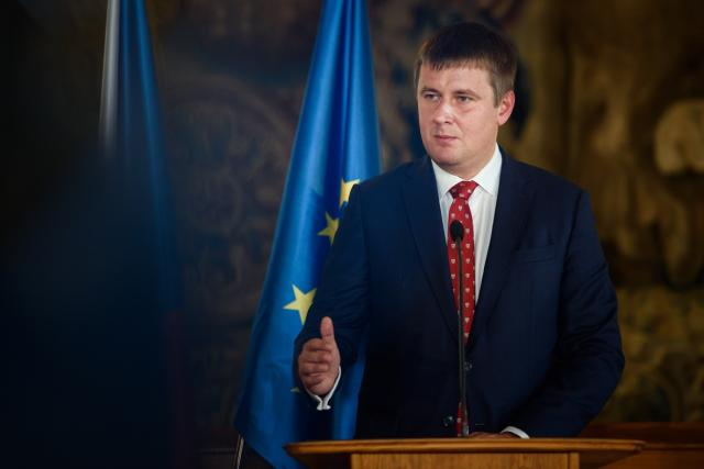 Český ministr zahraničí Tomáš Petříček.