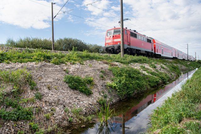 vlak,  Německo  (ilustrační foto) | foto: Profimedia