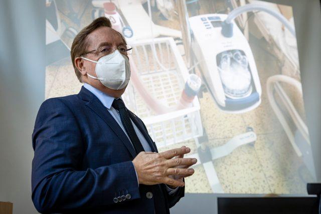 Nový ministr zdravotnictví za hnutí ANO Petr Arenberger