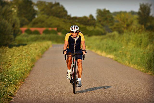 Cyklistika, cyklista (ilustrační foto)