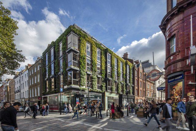 Regal house v Covent Garden v Londýně.