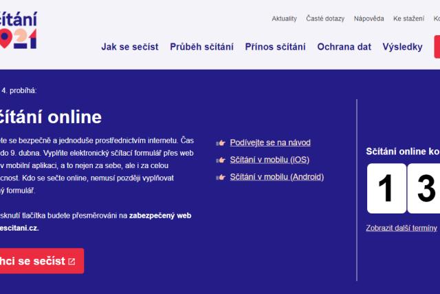 Elektronické sčítání lidu.   foto: Český statistický úřad