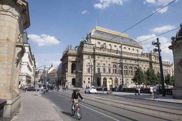 Národní divadlo   foto: Michaela Danelová,  iROZHLAS.cz