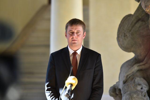 Ministr zahraničních věcí Tomáš Petříček z ČSSD.