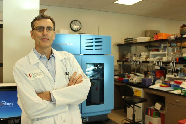 Virolog Tomáš Cihlář, který získal ocenění za  vývoj virostatik proti závažným virovým onemocněním a za zásluhy o českou i světovou vědu