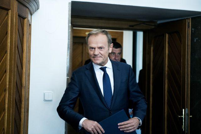 Donald Tusk   foto: Michaela Danelová,  iROZHLAS.cz