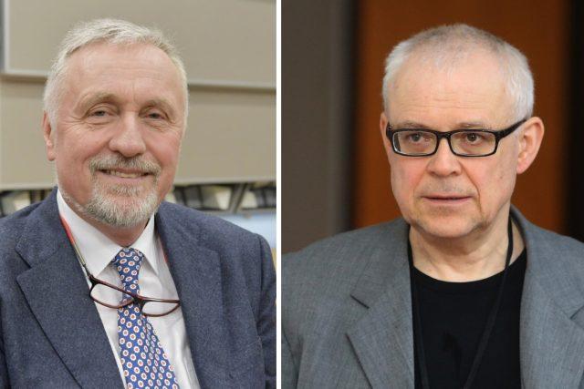 Expremiéři Mirek Topolánek a Vladimír Špidla
