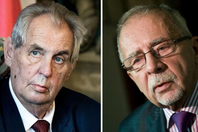 Prezident Miloš Zeman a Stanislav Křeček, dlouholetý zástupce ombudsmanky Anny Šabatové