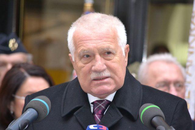 Bývalý prezident a premiér České republiky Václav Klaus