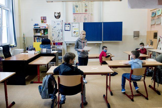 Žáci prvního stupně zš se vrací do školy