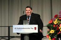 Nejvyšší představitel sudetských Němců Bernd Posselt