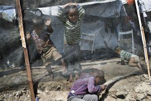 Dětští uprchlíci v Řecku