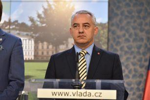Předseda Českomoravské konfederace odborových svazů (ČMKOS) Josef Středula