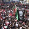 Statisíce lidí se přišly rozloučit s generálem Solejmáním
