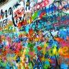 Lennonova zeď v Praze