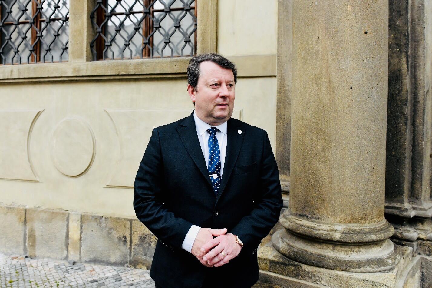 Ministr kultury Antonín Staněk z ČSSD