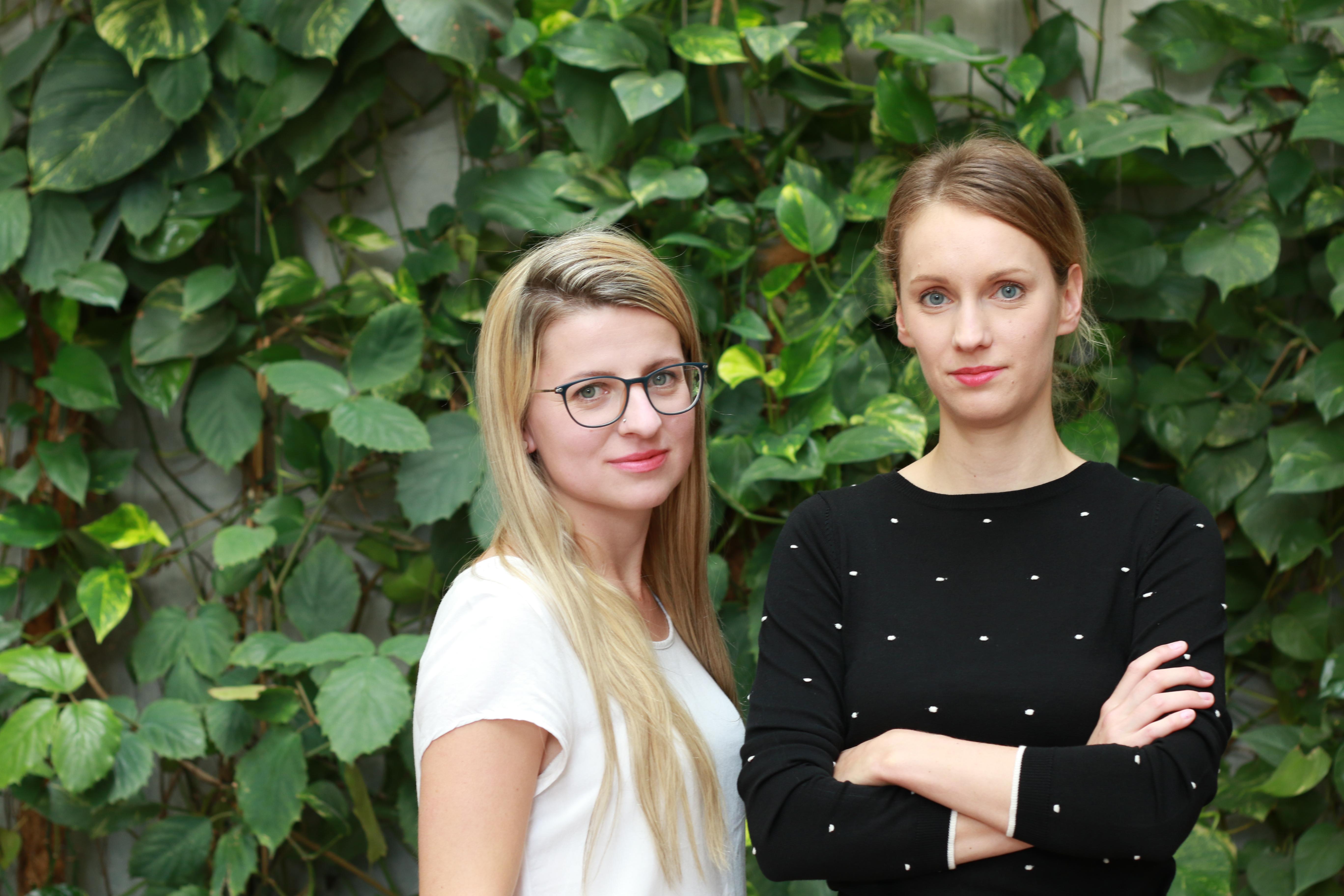 Tereza Čemusová a Kristýna Guryčová