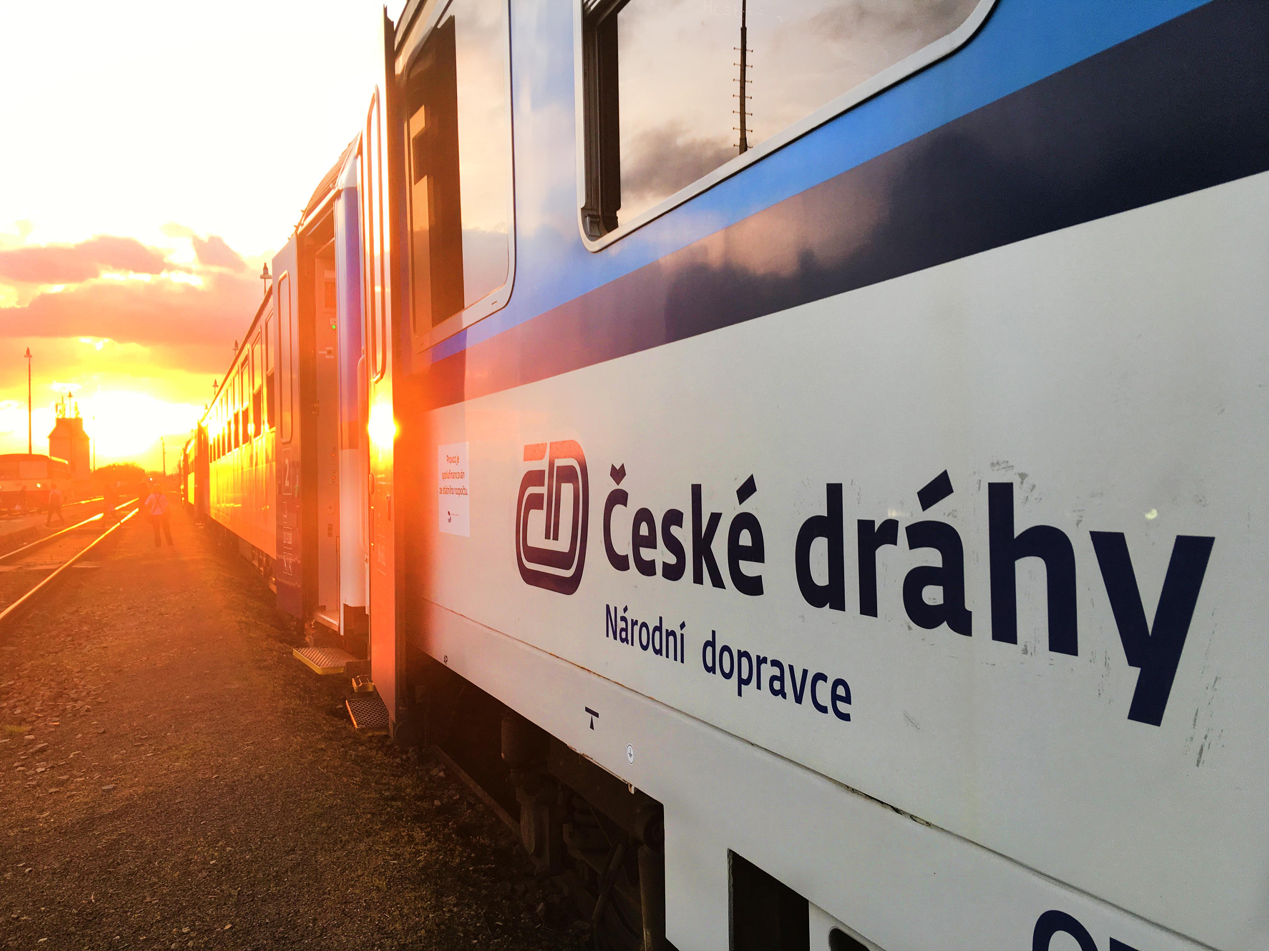 Osobní vlak, České dráhy.