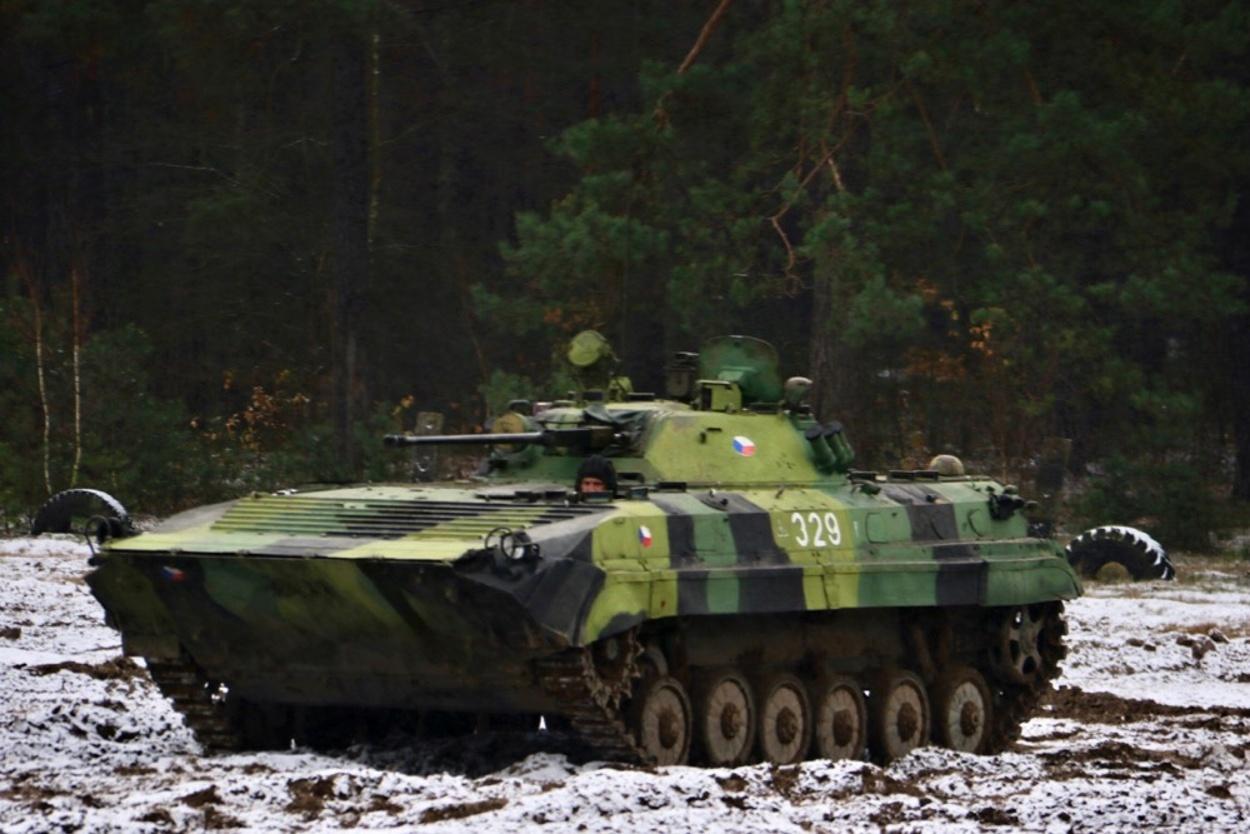 Vozidlo BVP-2 české armády