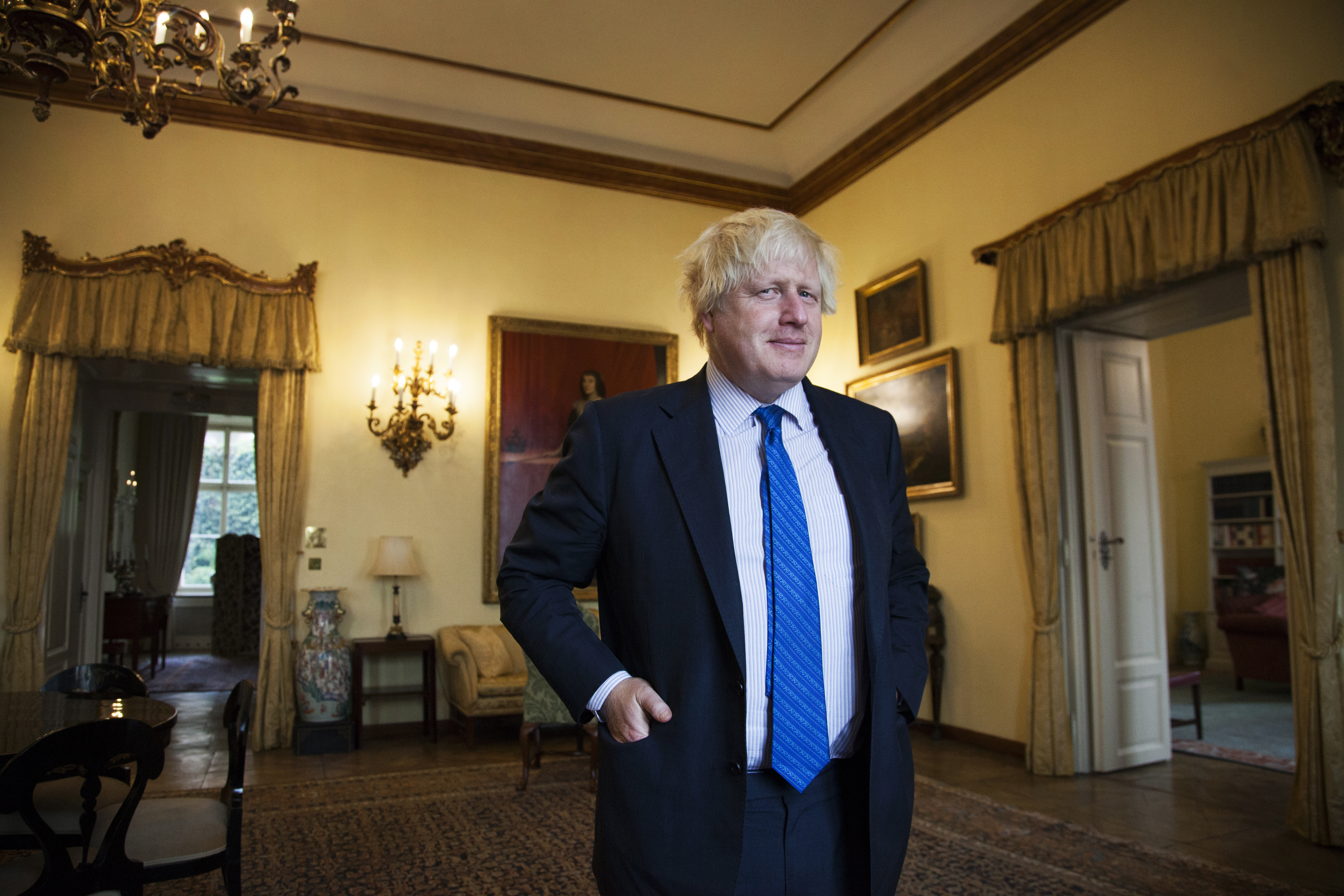 Bývalý britský ministr zahraničí Boris Johnson