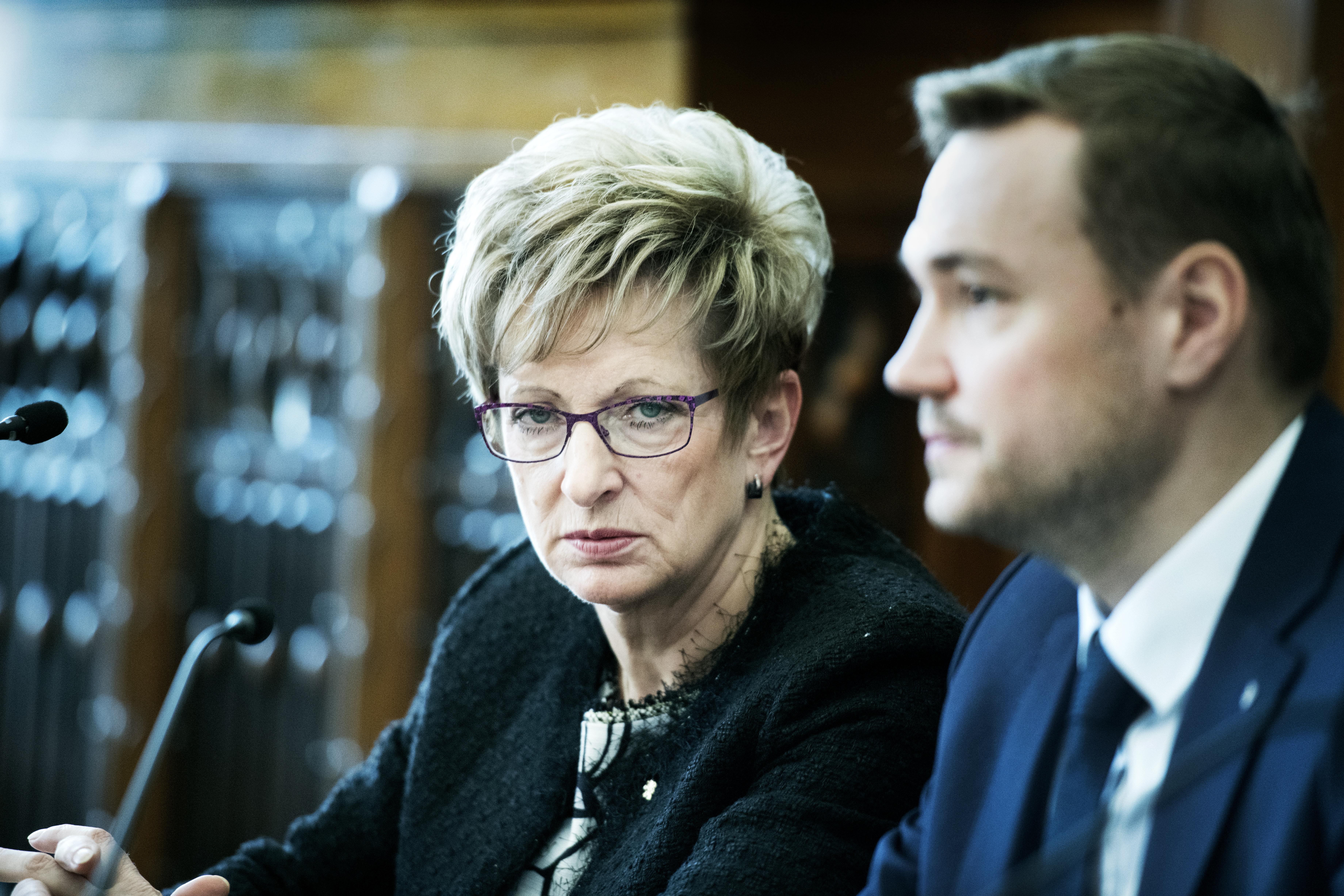 Marta Nováková, ministryně průmyslu a obchodu.