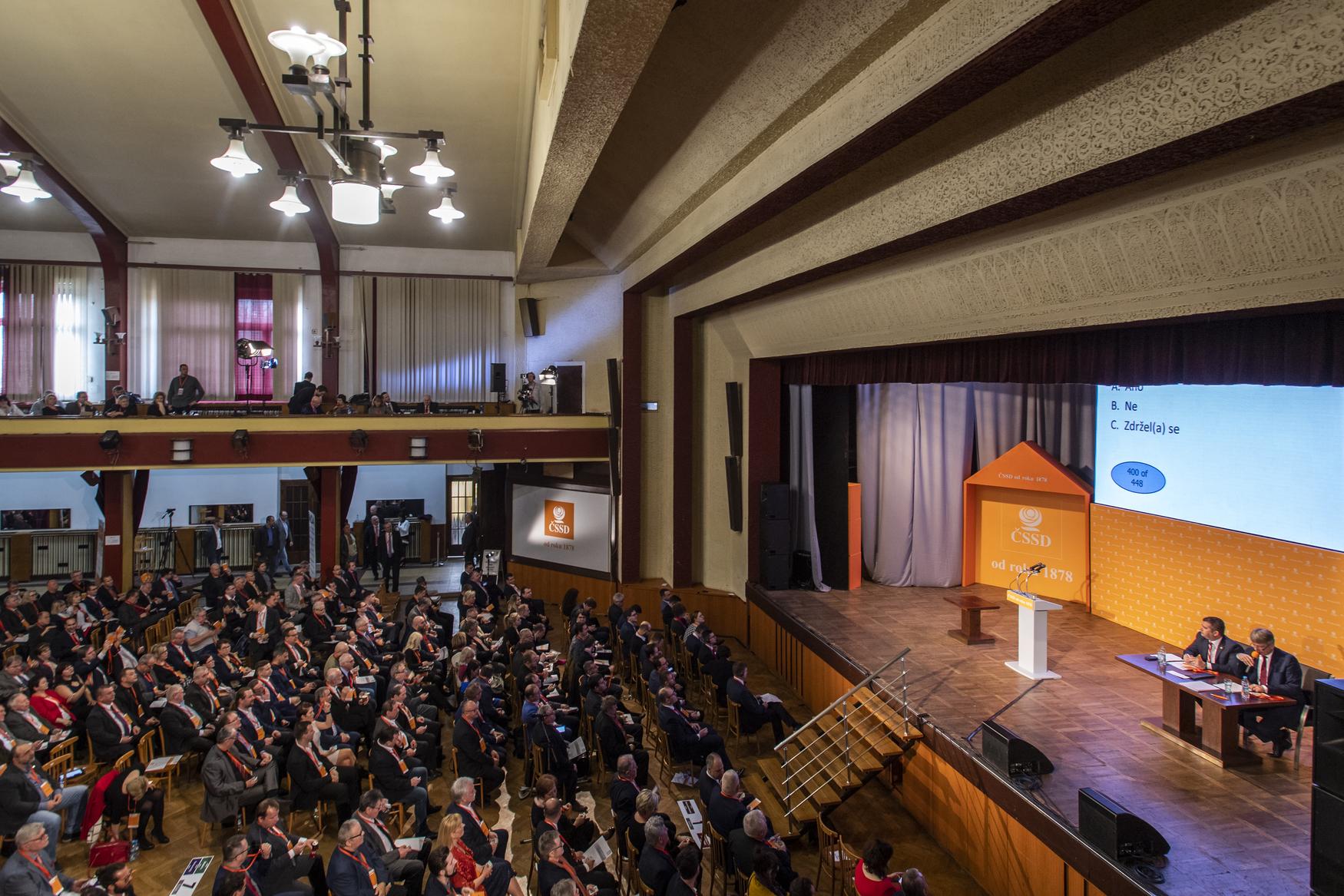 Sjezdu ČSSD se zúčastní 600 delegátů