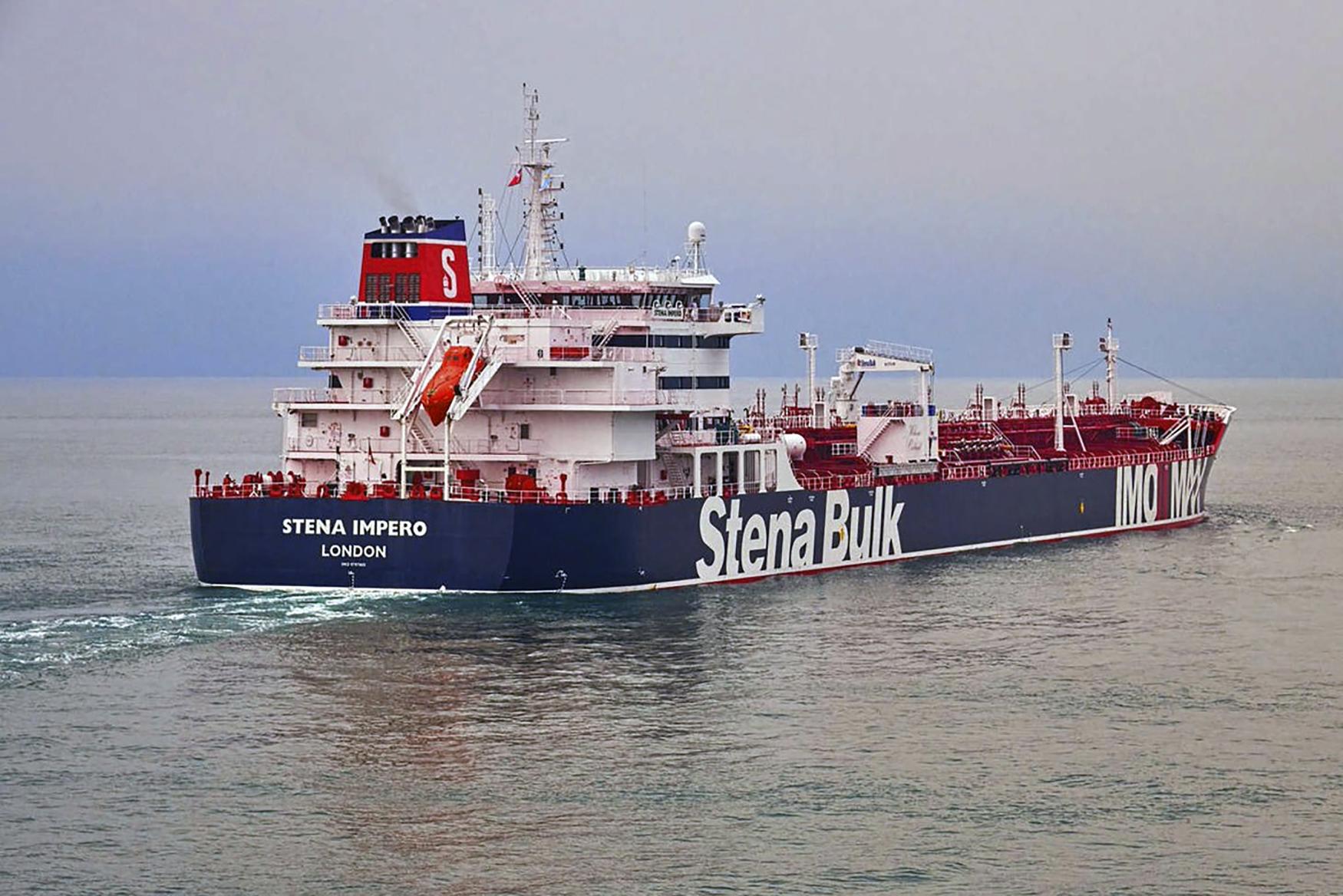 Tanker Stena Impero na archivním snímku