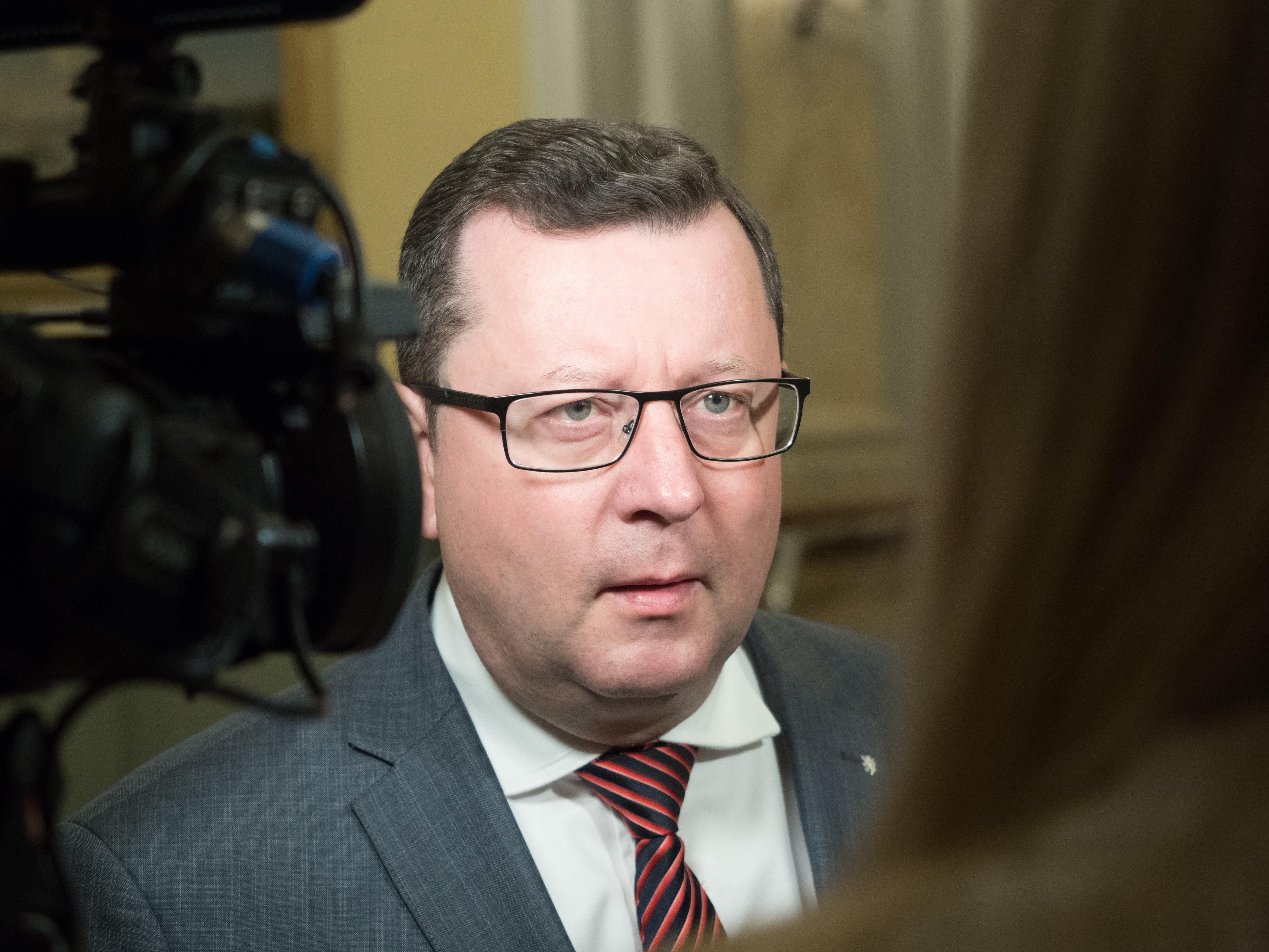 Ministr kultury Antonín Staněk