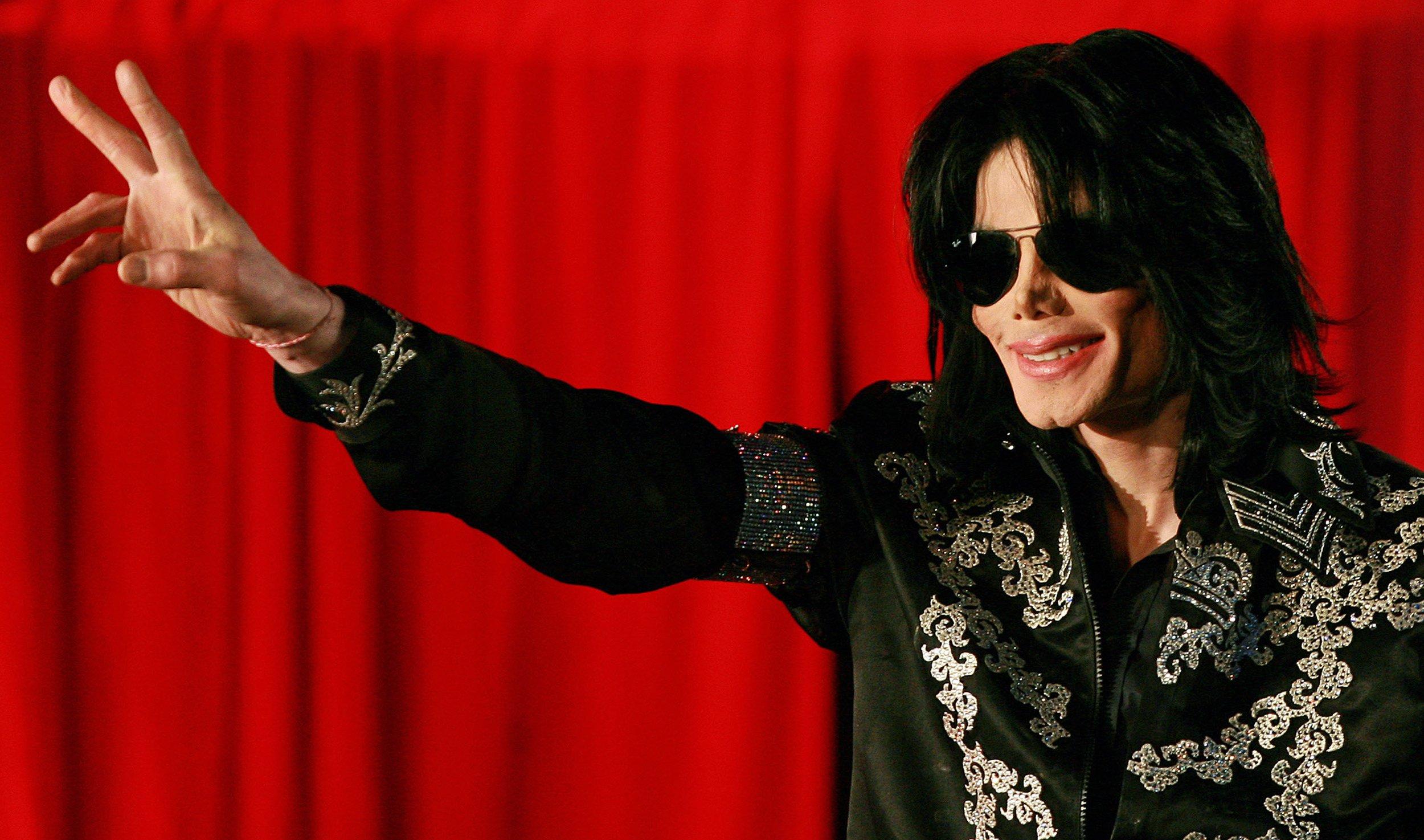 Král popu Michael Jackson v roce 2009