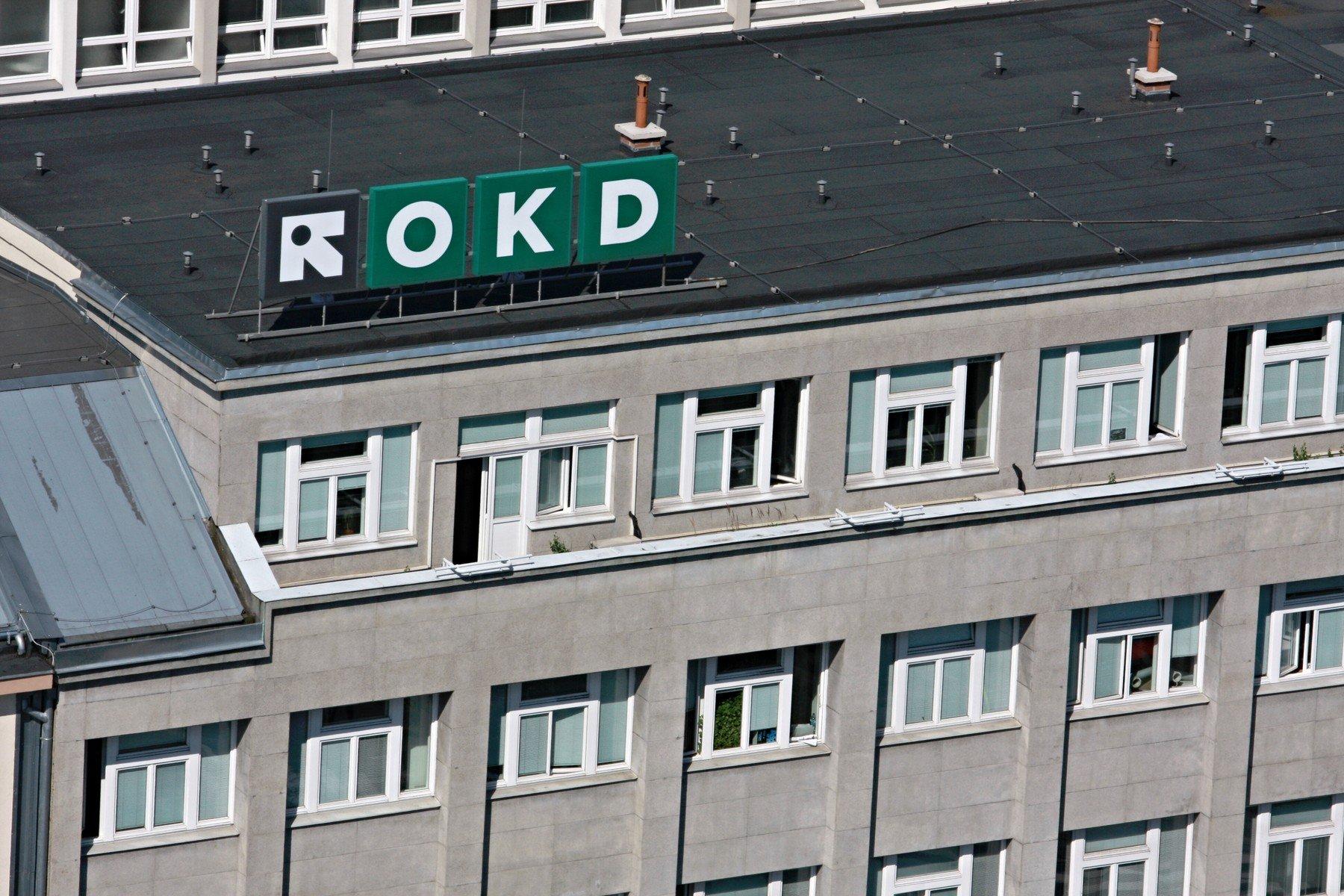 Ředitelská budova OKD na Prokešově náměstí v Ostravě
