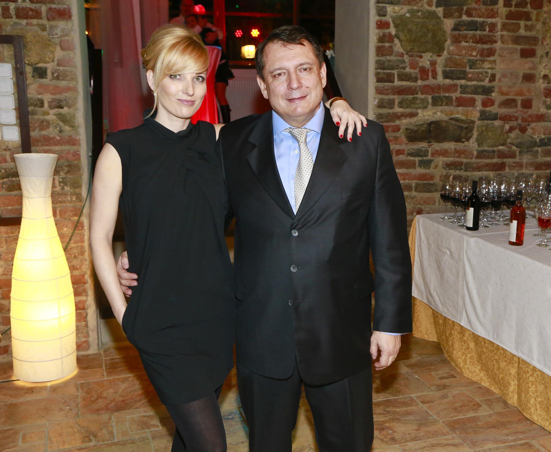 Petra Paroubková se svým manželem Jiřím na archivním snímku z roku 2014.