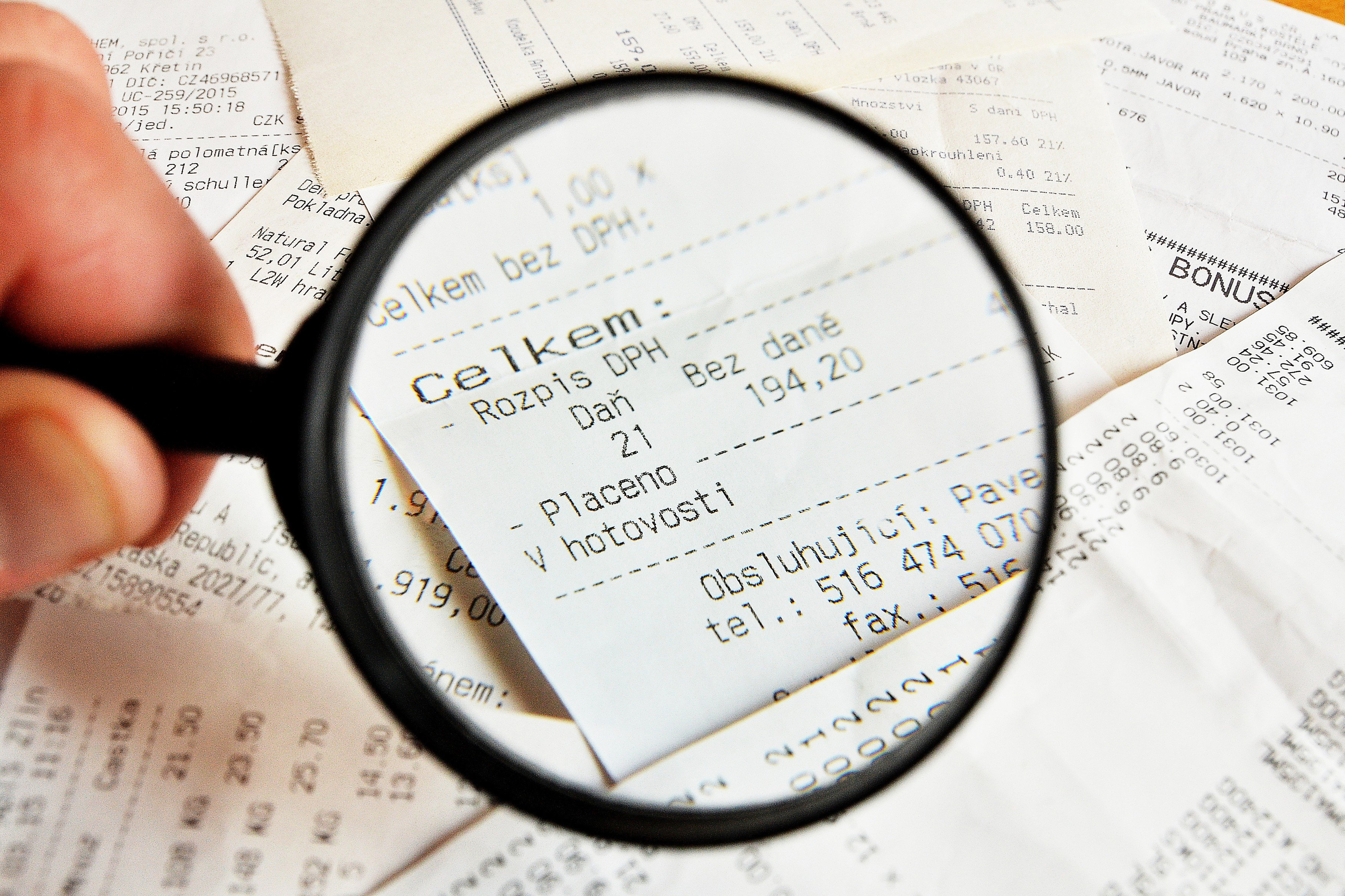 Elektronická evidence tržeb, EET (ilustrační foto)