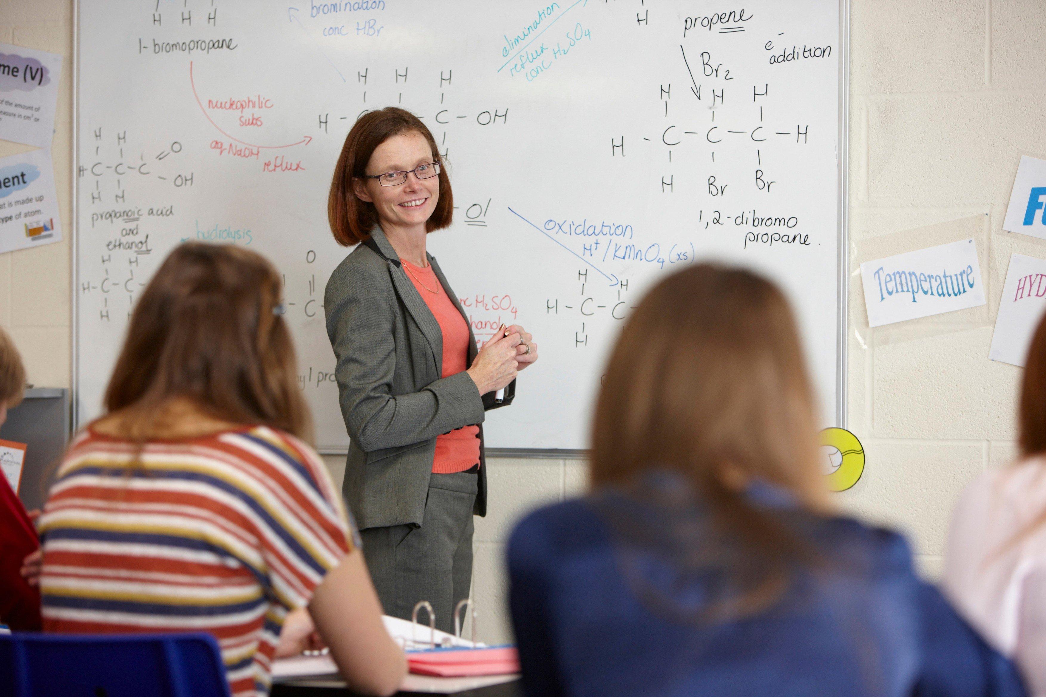 Škola, učitel, učitelka, učitelé, žáci, ilustrační snímek