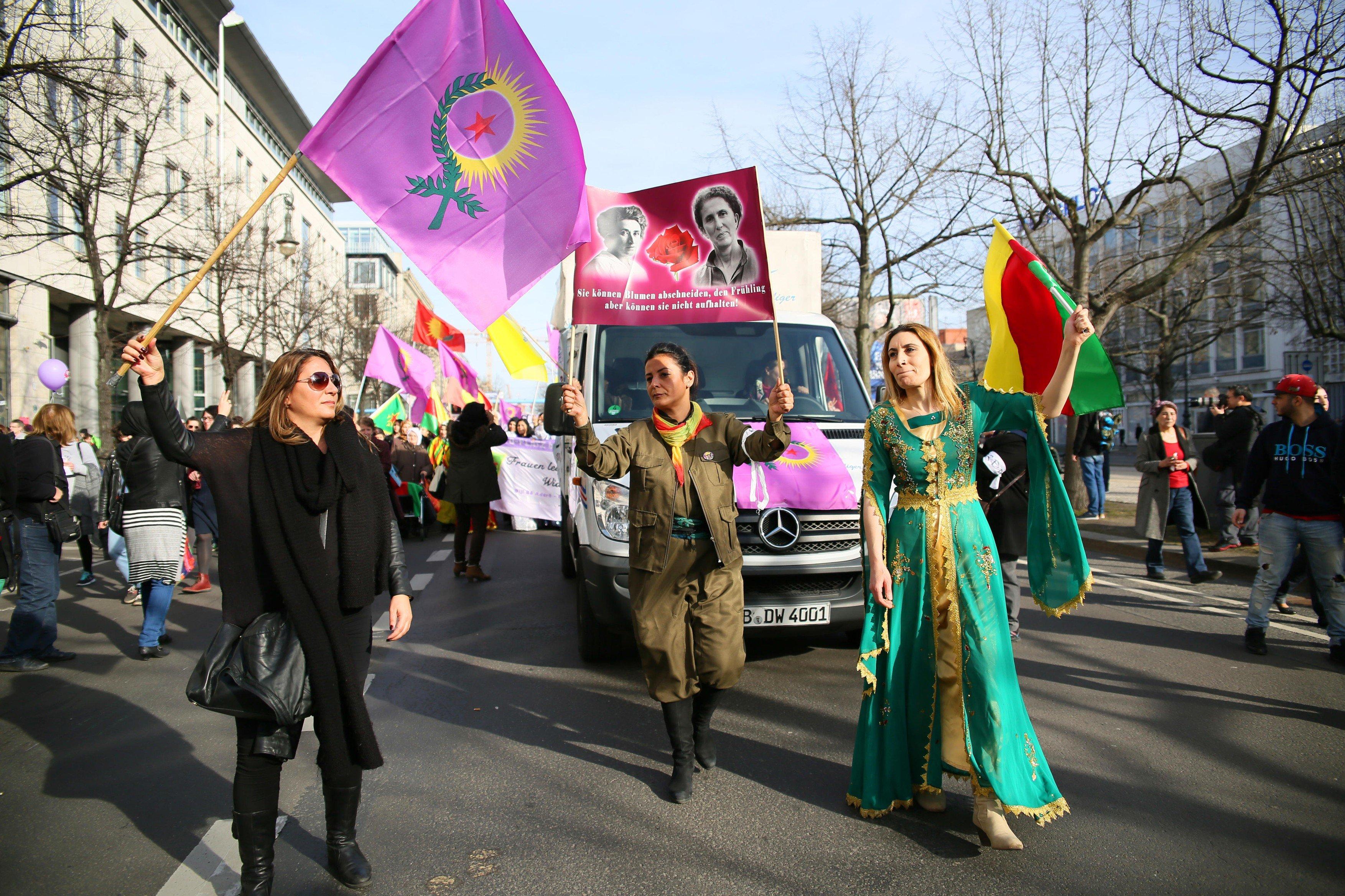 Německá metropole si odhlasovala nový svátek: Mezinárodní den žen (snímek pochází z průvodu na MDŽ v roce 2015)