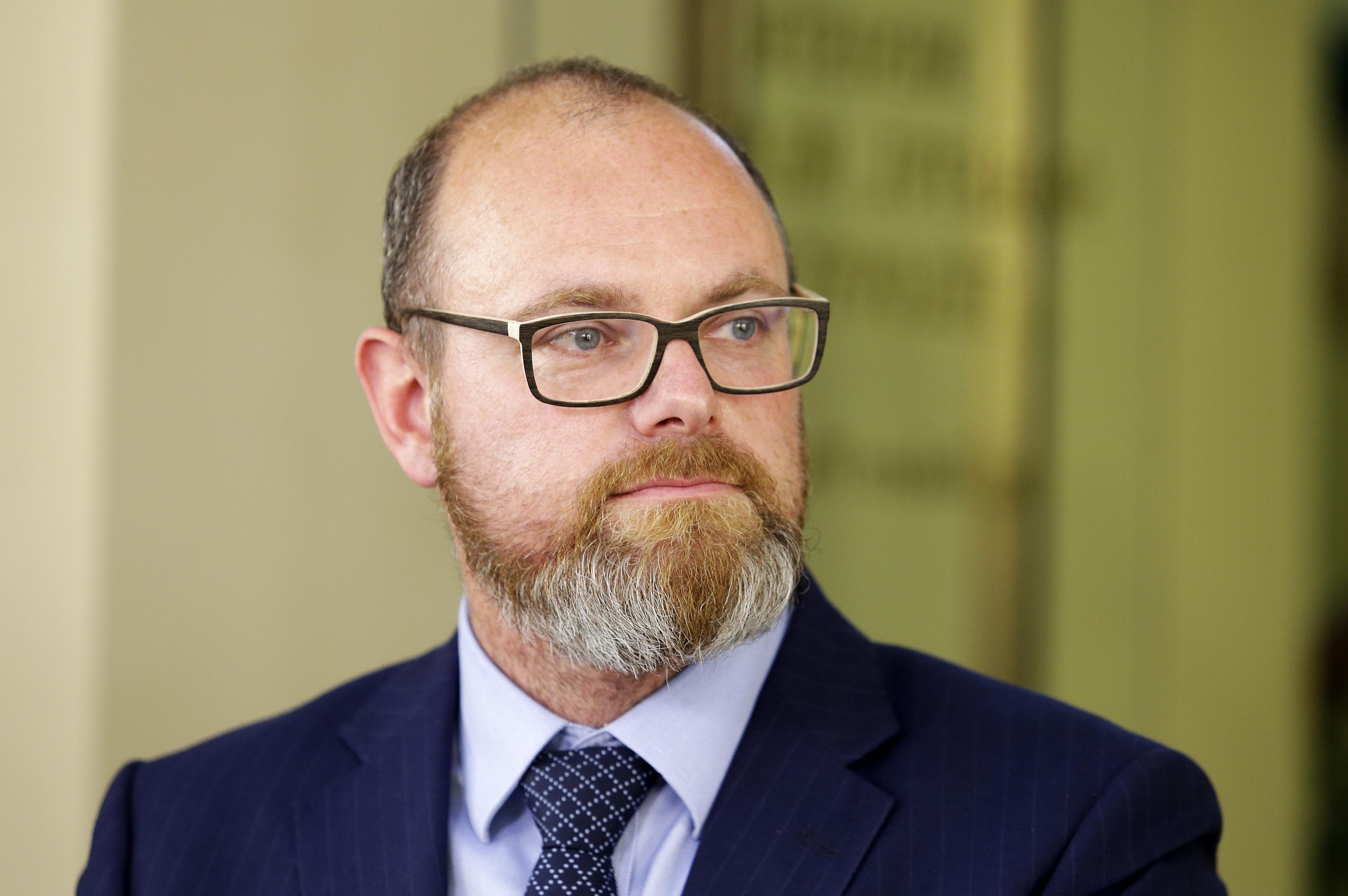 Ministr školství Robert Plaga z ANO