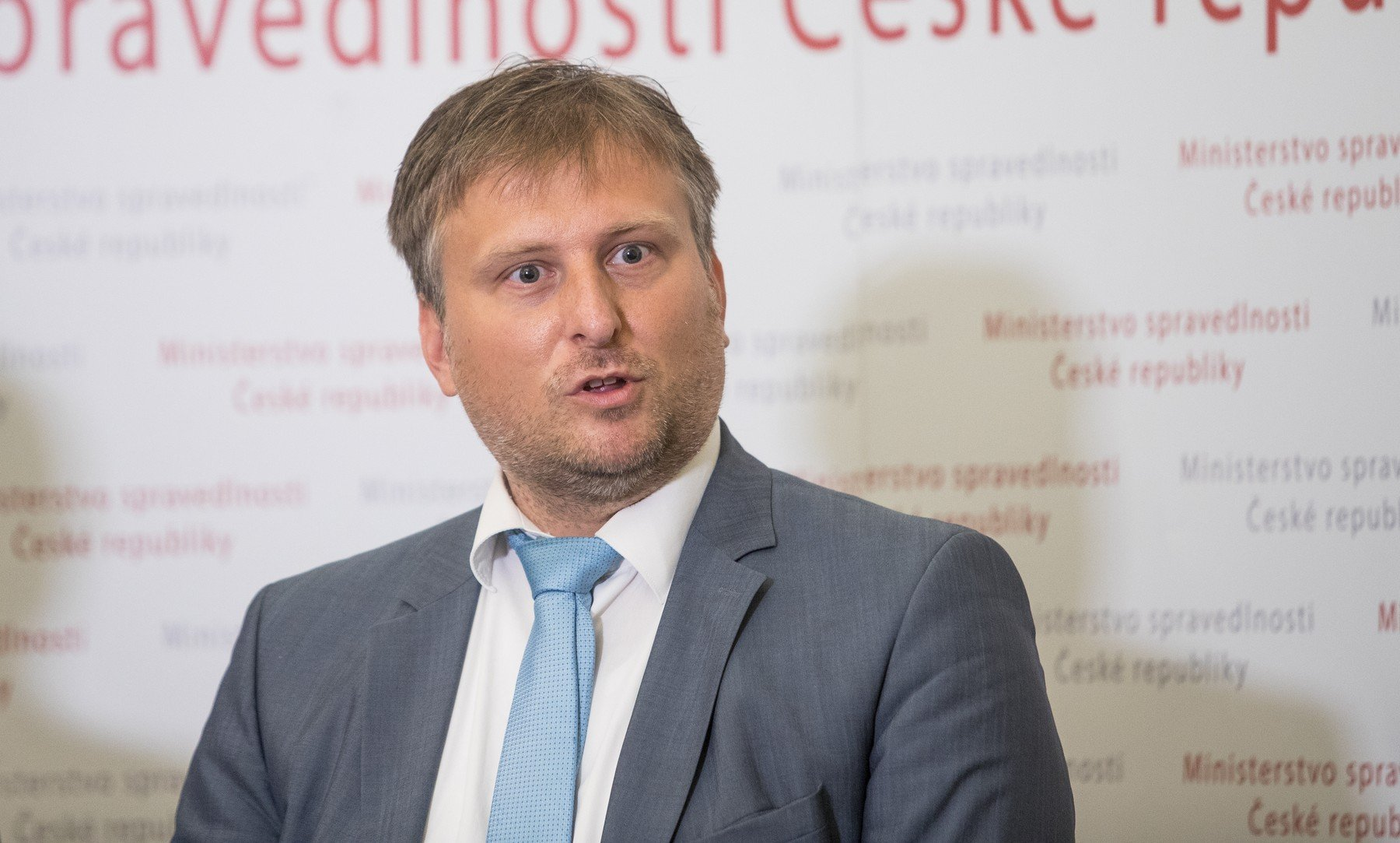 Ministr spravedlnosti Jan Kněžínek (za ANO).