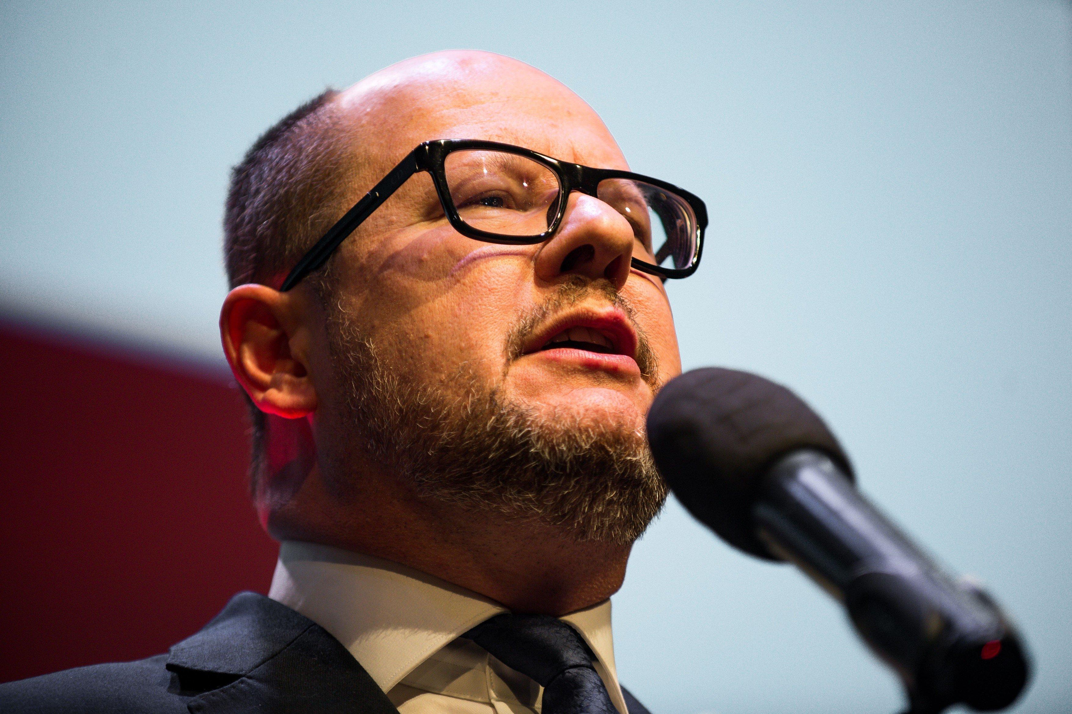 Primátor Gdaňsku Paweł Adamowicz
