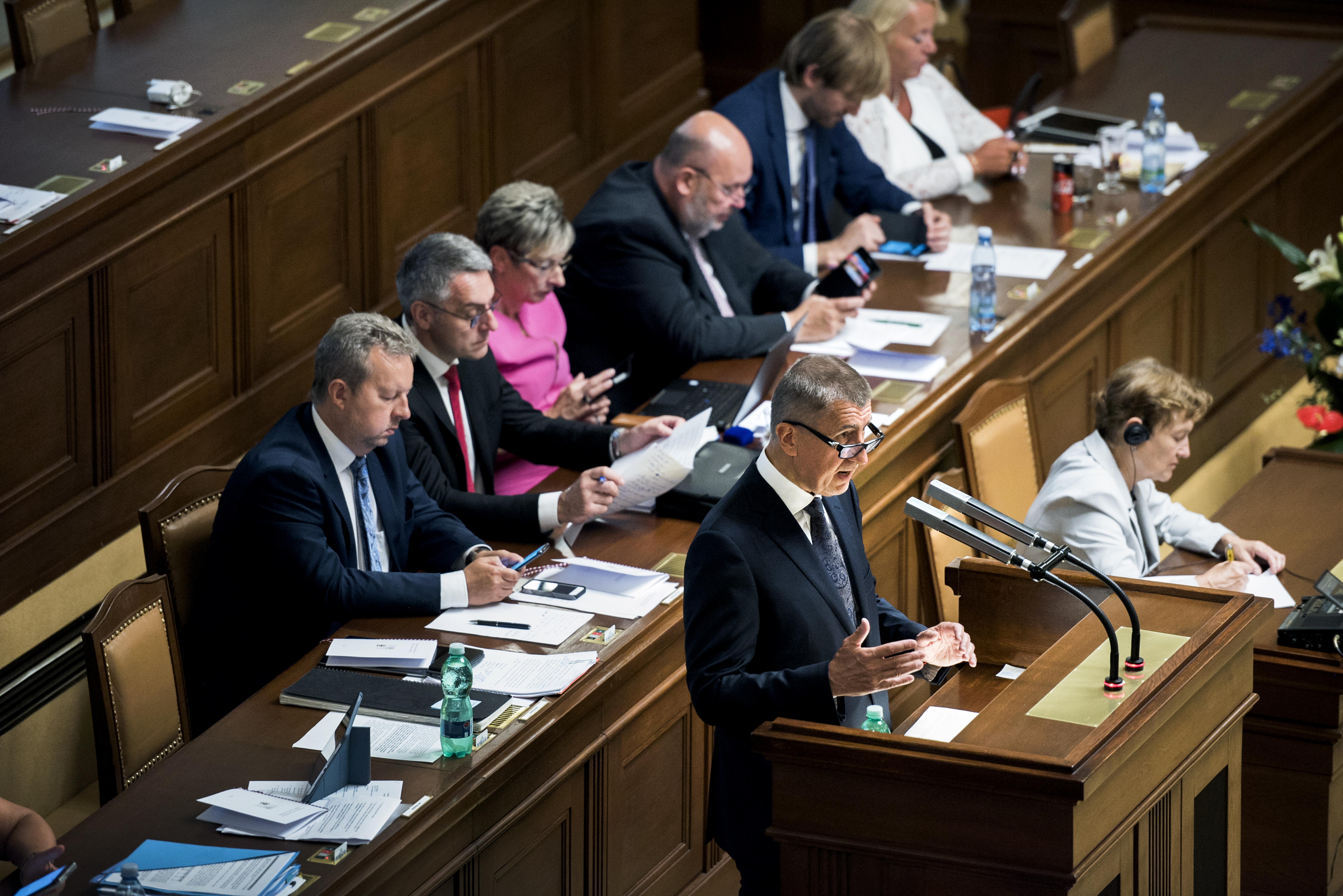 Druhá vláda Andreje Babiše žádá Poslaneckou sněmovnu o důvěru