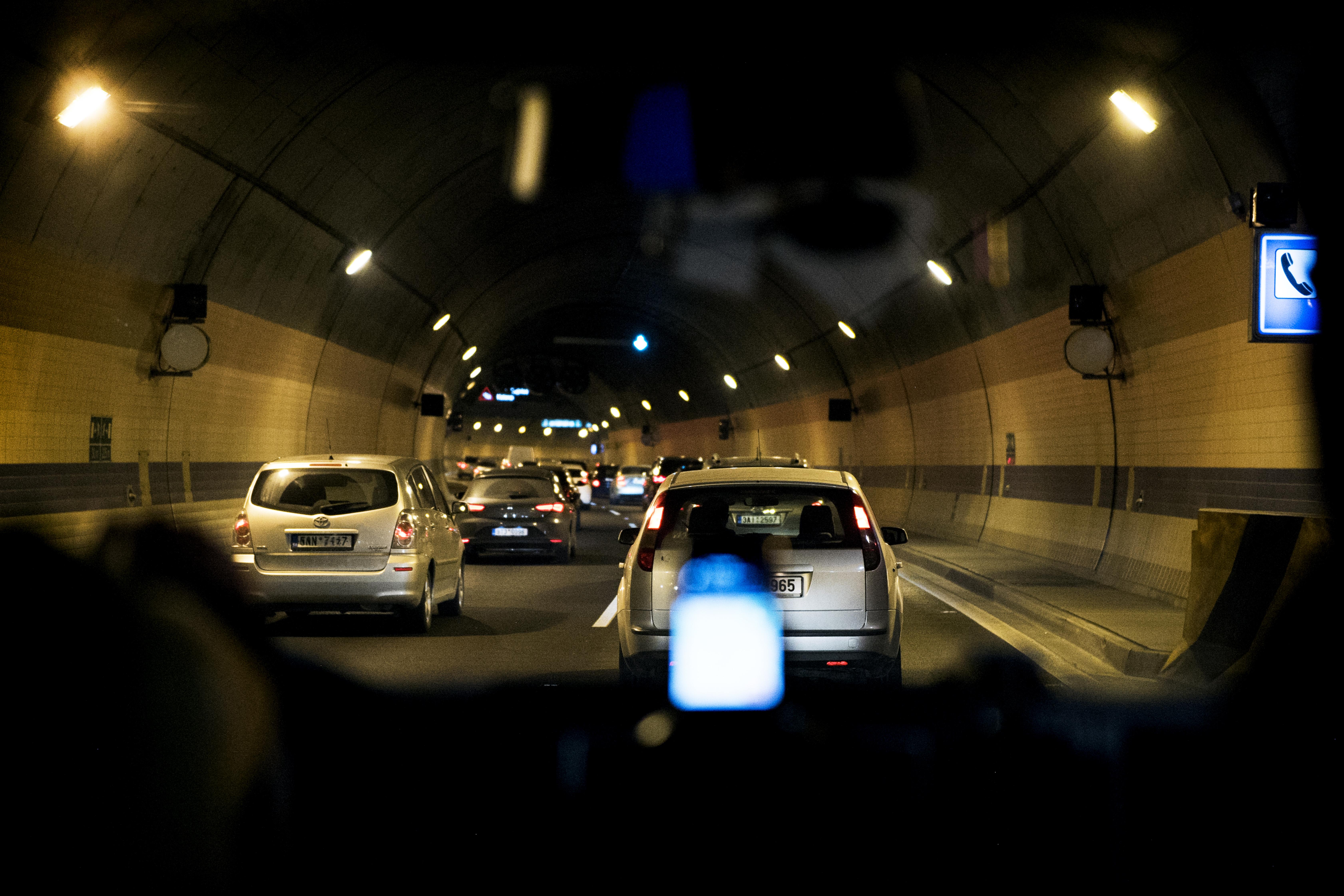 Provoz v tunelu Blanka